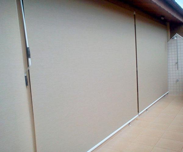 Toldo cortina vertical