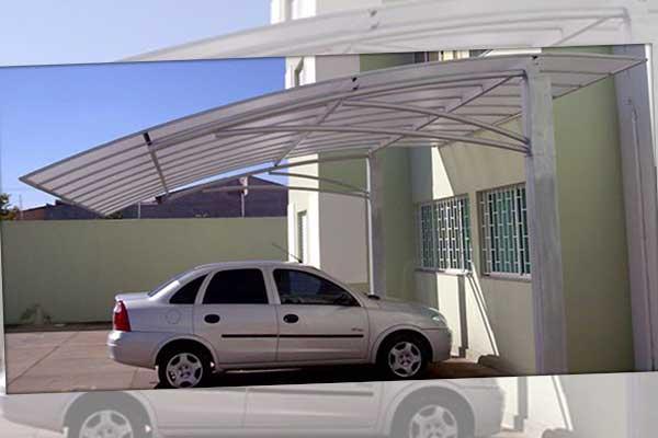 abrigo para carro em policarbonato