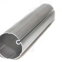 Tubo corrugado em aluminio
